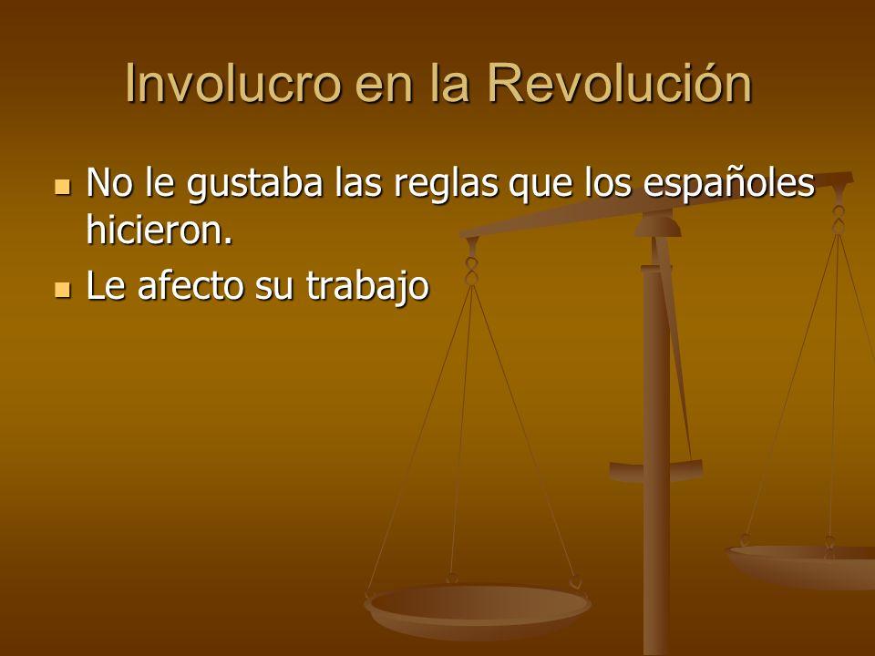 Involucro en la Revolución