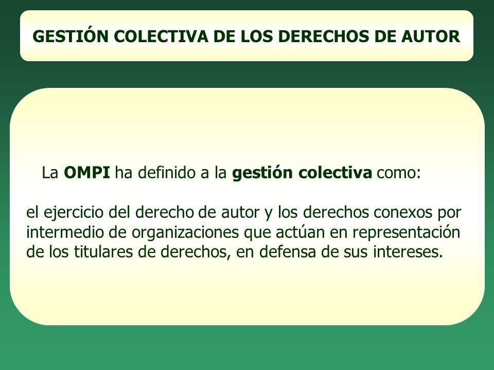 ENTIDADES DE GESTIÓN COLECTIVA EN ARGENTINA