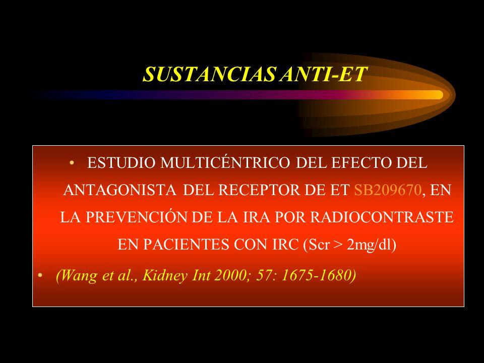 SUSTANCIAS ANTI-ET