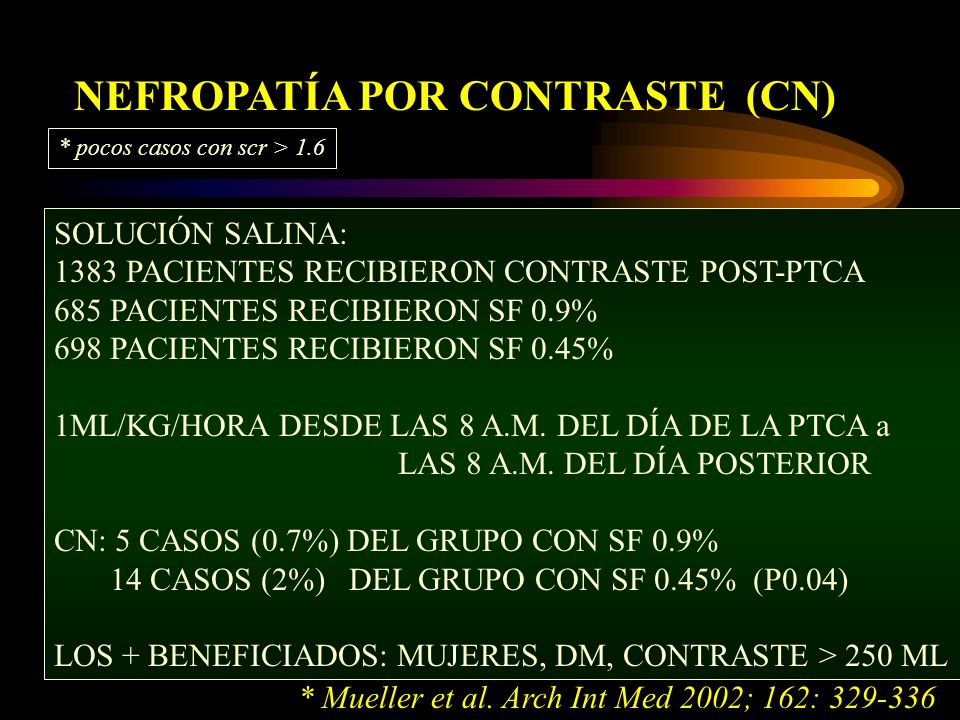 NEFROPATÍA POR CONTRASTE (CN)