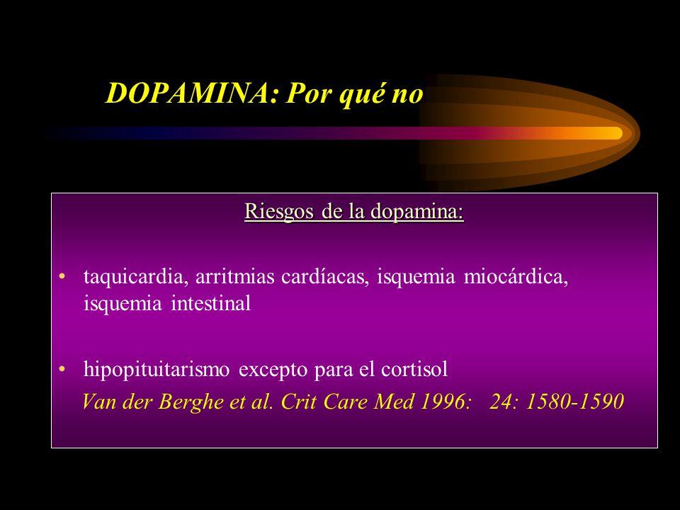Riesgos de la dopamina: