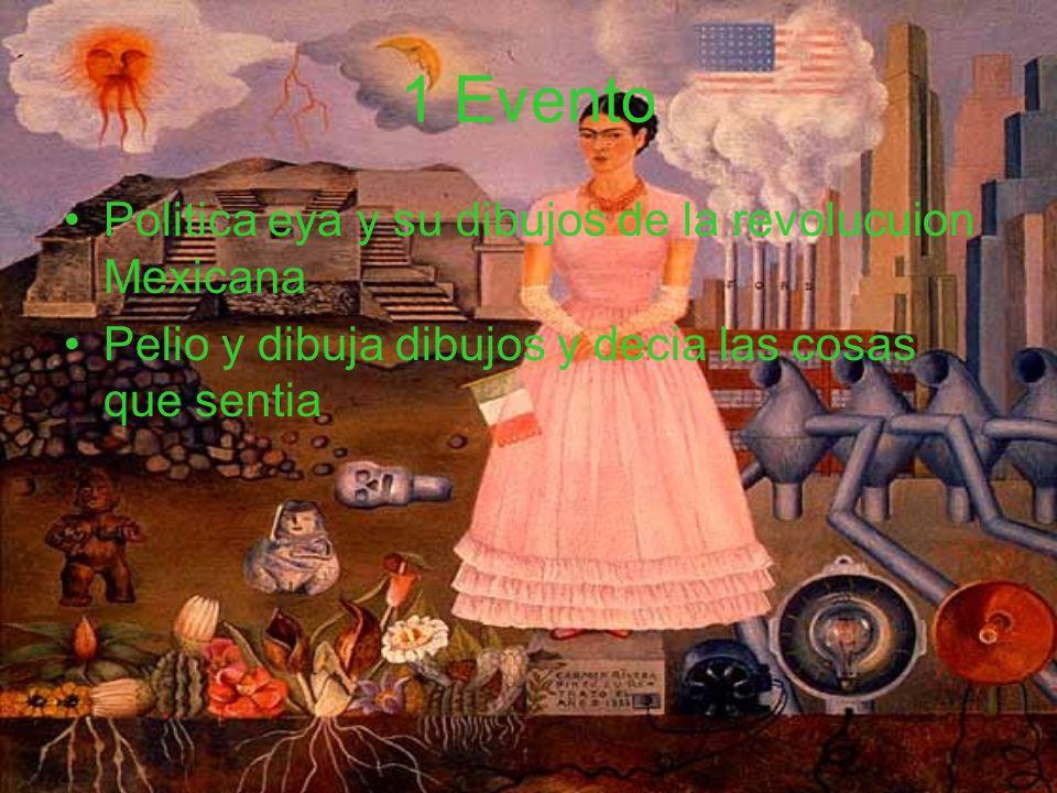 1 Evento Politica eya y su dibujos de la revolucuion Mexicana
