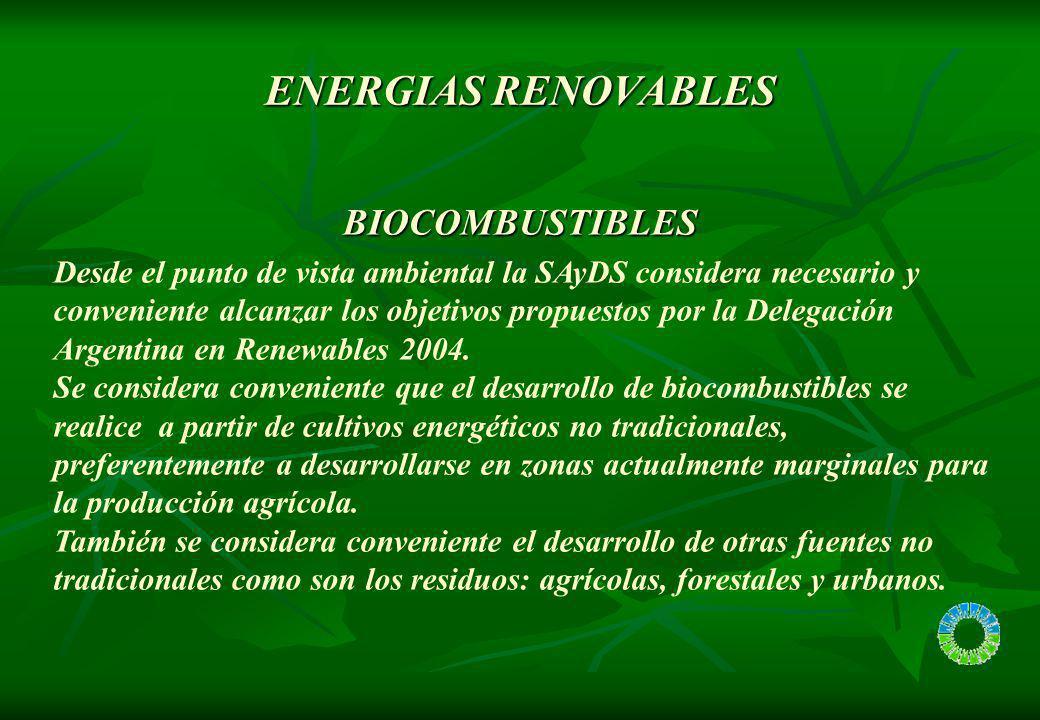 Ventajas de los Biocombustibles con respecto a los combustibles fósiles