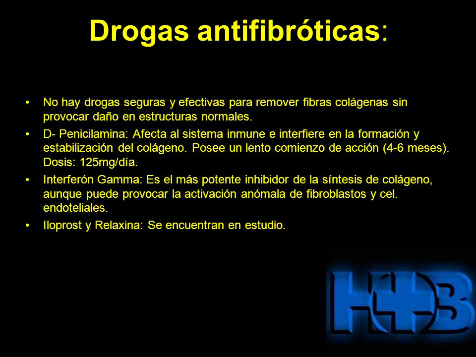 Drogas antifibróticas: