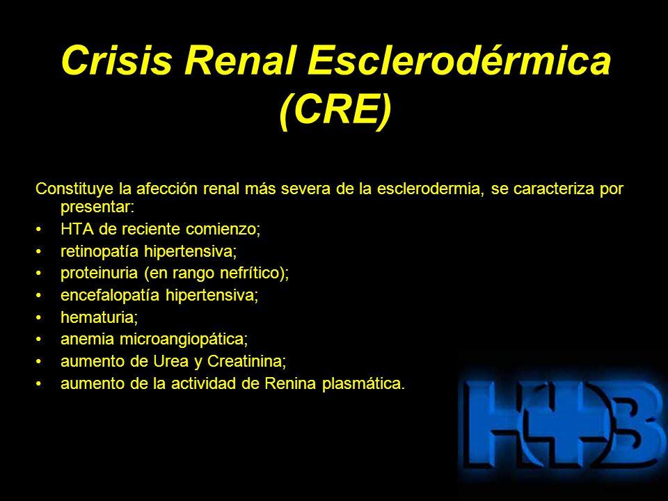 Crisis Renal Esclerodérmica (CRE)