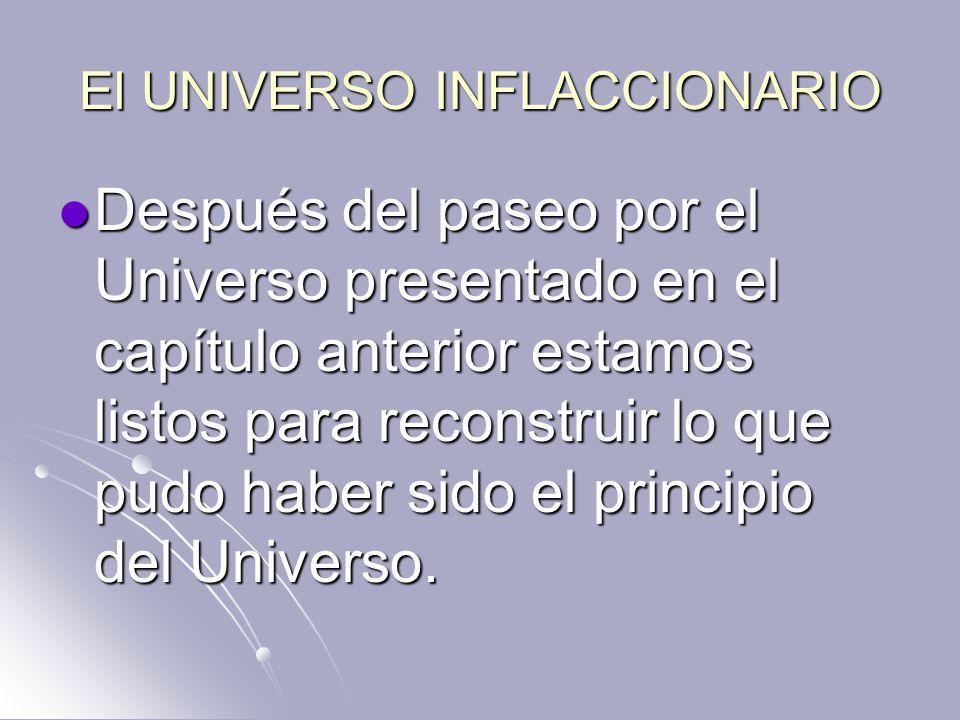 El UNIVERSO INFLACCIONARIO