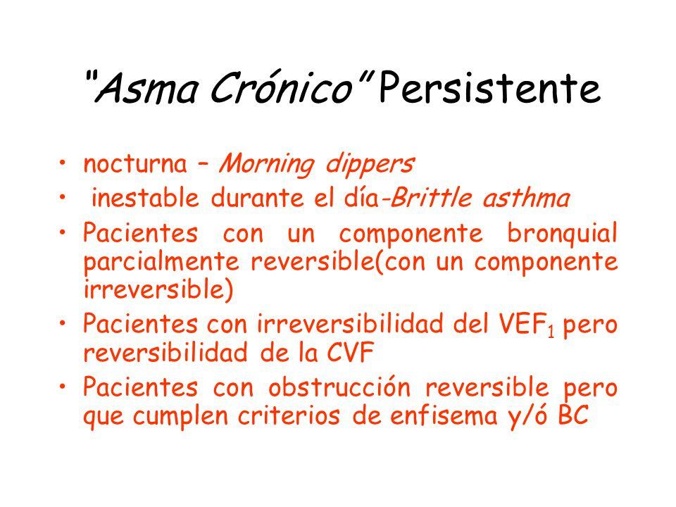 Asma Crónico Persistente