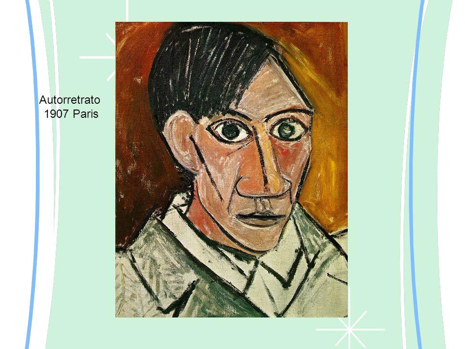 Autorretrato 1907 Paris