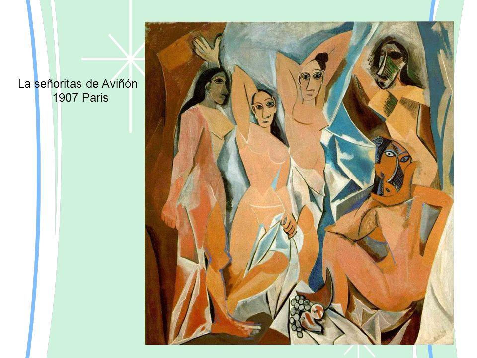 La señoritas de Aviñón 1907 Paris