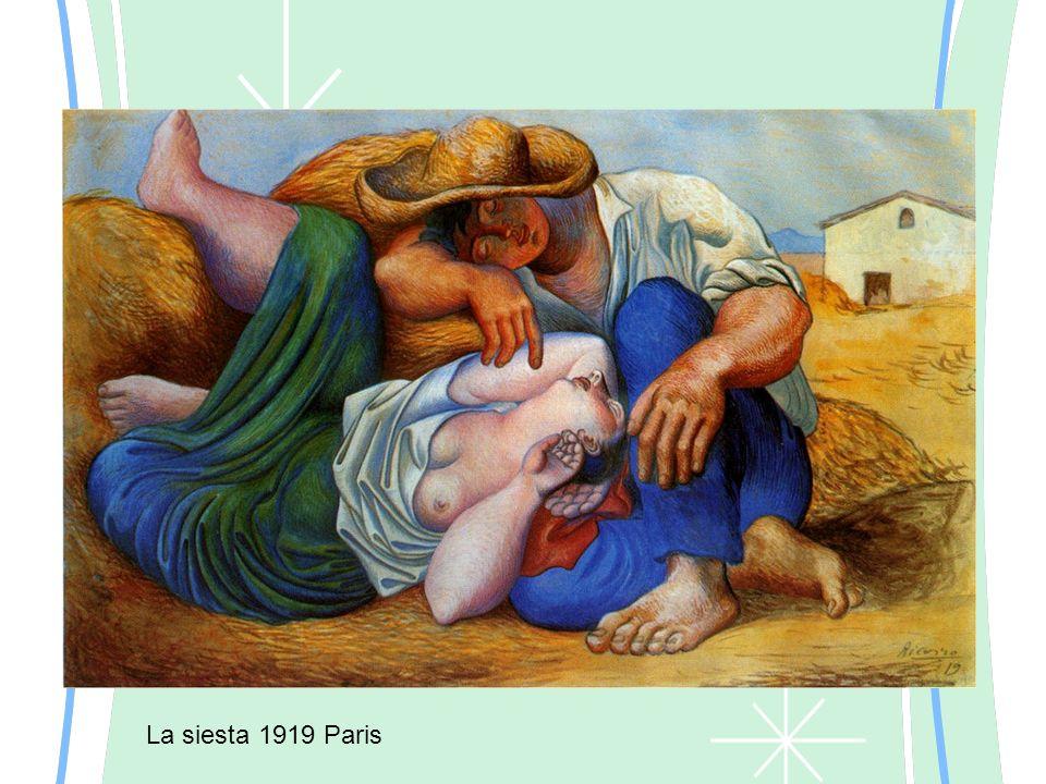 La siesta 1919 Paris