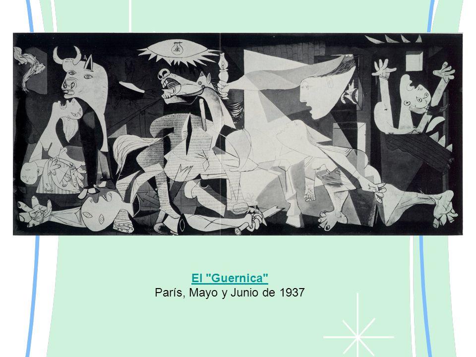 El Guernica París, Mayo y Junio de 1937