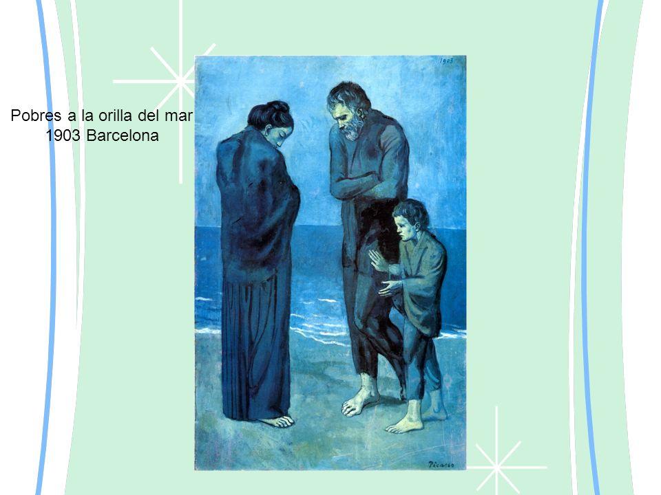 Pobres a la orilla del mar 1903 Barcelona