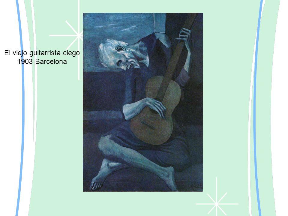 El viejo guitarrista ciego