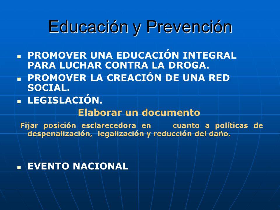 Educación y Prevención