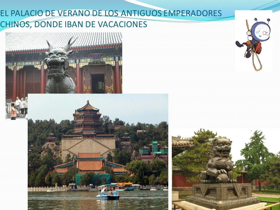 EL PALACIO DE VERANO DE LOS ANTIGUOS EMPERADORES CHINOS, DONDE IBAN DE VACACIONES