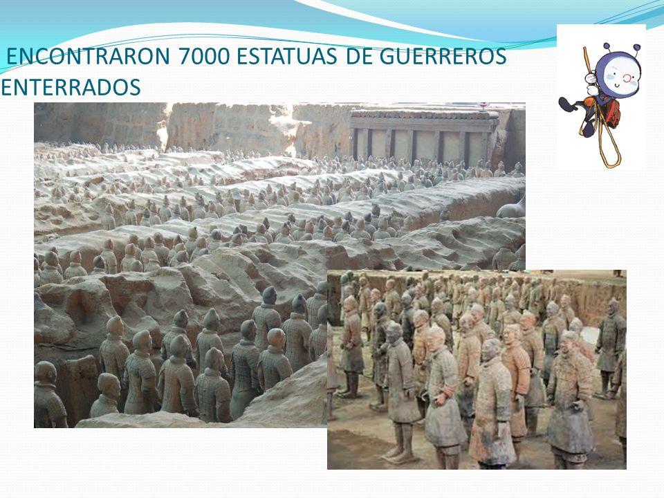 ENCONTRARON 7000 ESTATUAS DE GUERREROS ENTERRADOS
