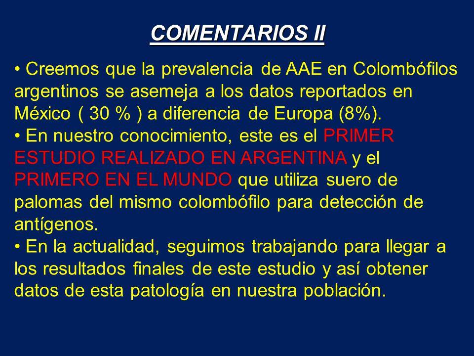 COMENTARIOS II
