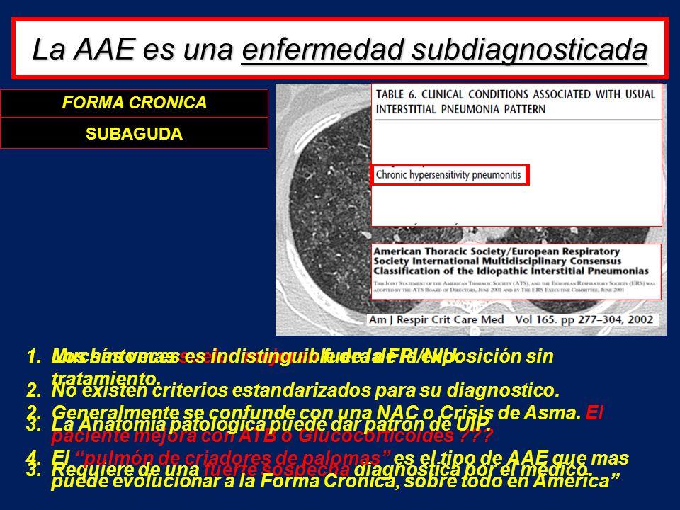 La AAE es una enfermedad subdiagnosticada