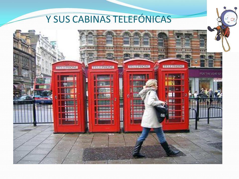 Y SUS CABINAS TELEFÓNICAS