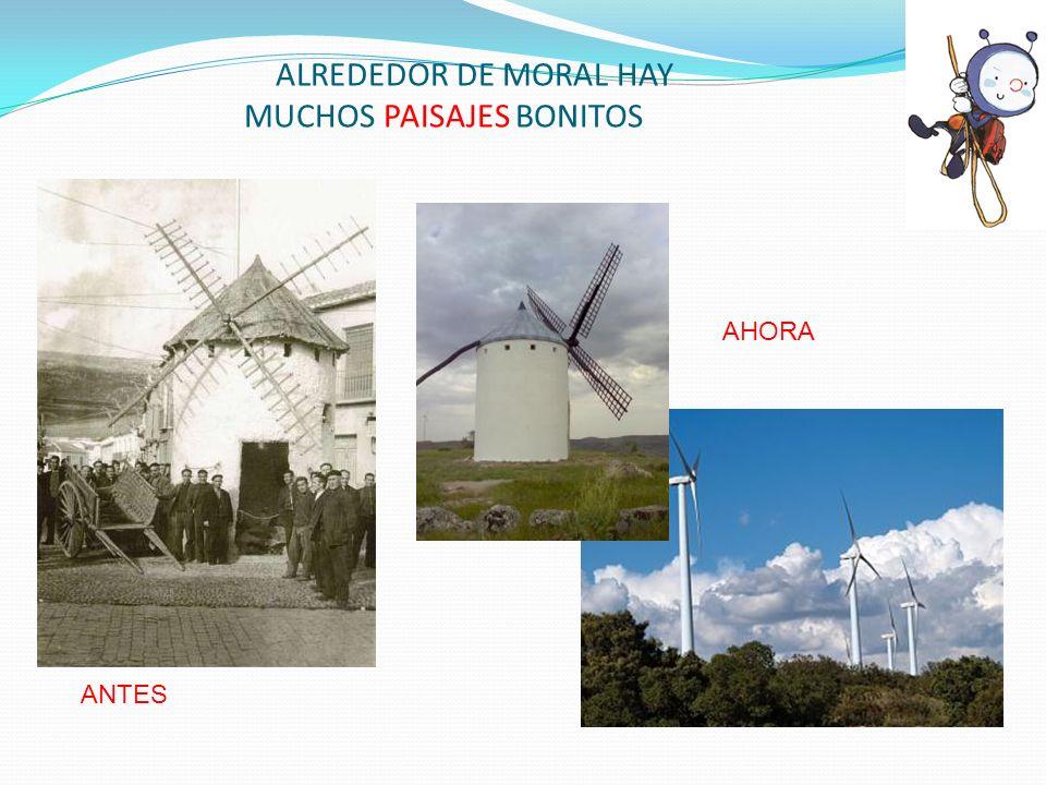 ALREDEDOR DE MORAL HAY MUCHOS PAISAJES BONITOS