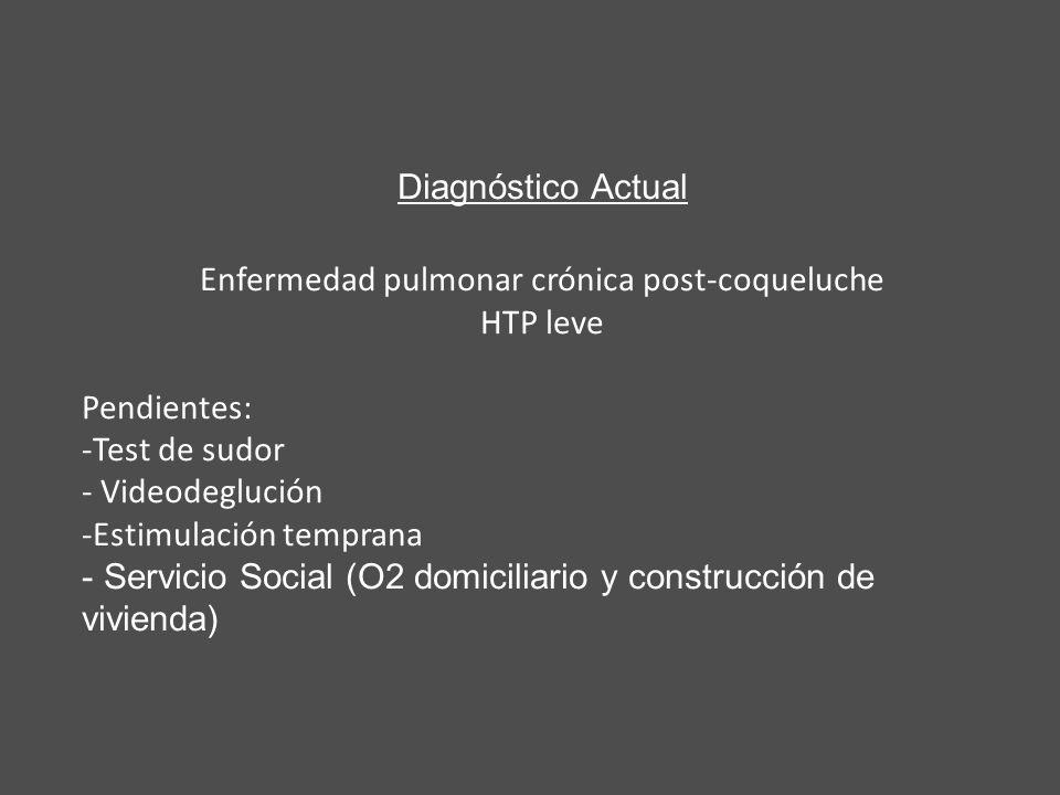 Enfermedad pulmonar crónica post-coqueluche