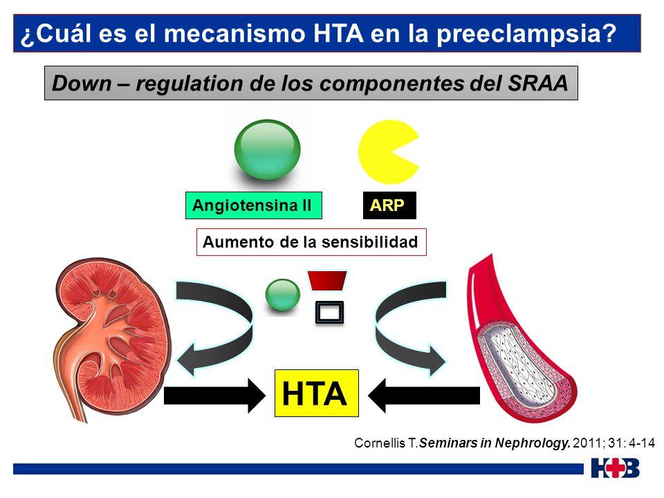 HTA ¿Cuál es el mecanismo HTA en la preeclampsia