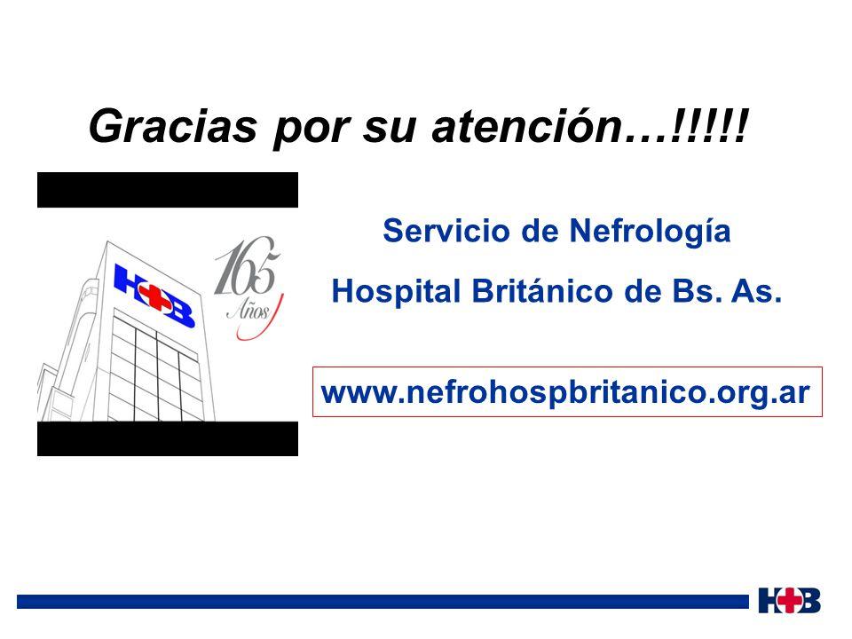 Servicio de Nefrología Hospital Británico de Bs. As.