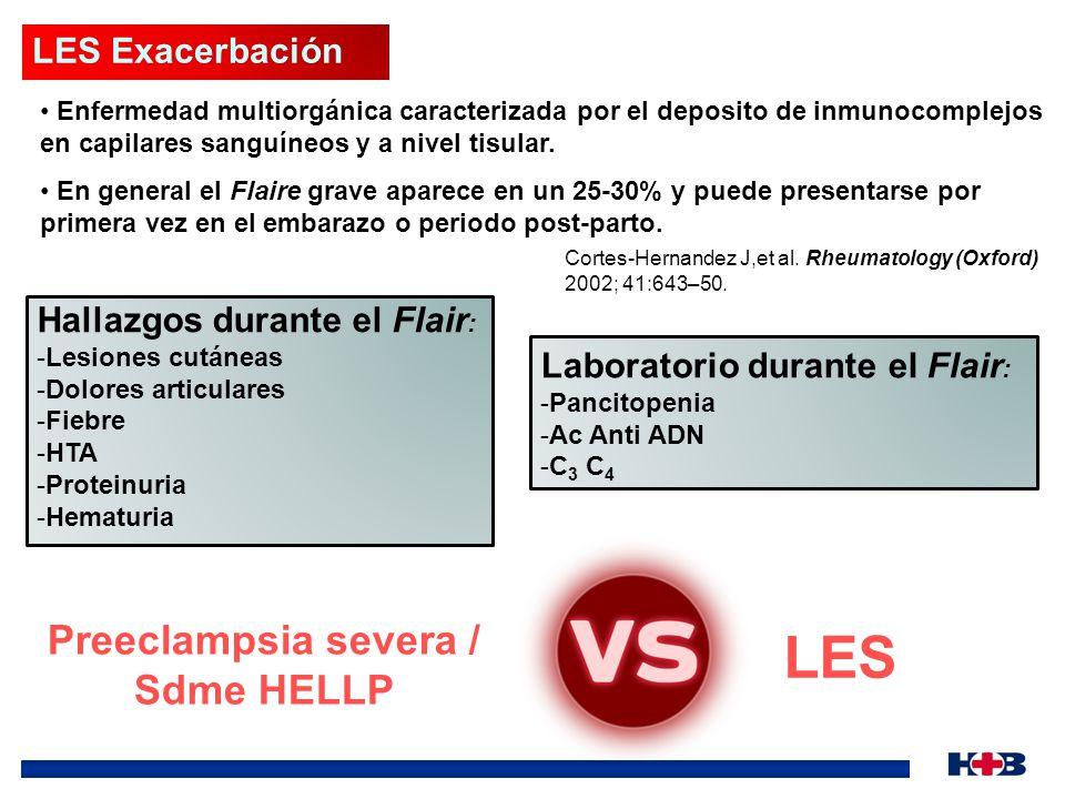 Preeclampsia severa / Sdme HELLP