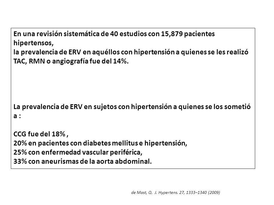 20% en pacientes con diabetes mellitus e hipertensión,