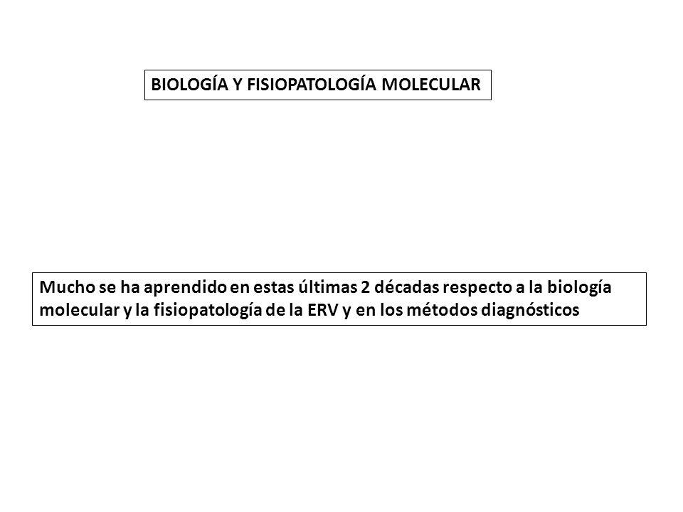 BIOLOGÍA Y FISIOPATOLOGÍA MOLECULAR