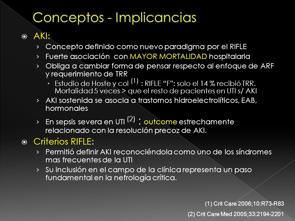 Conceptos - Implicancias