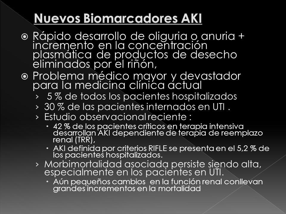 Nuevos Biomarcadores AKI