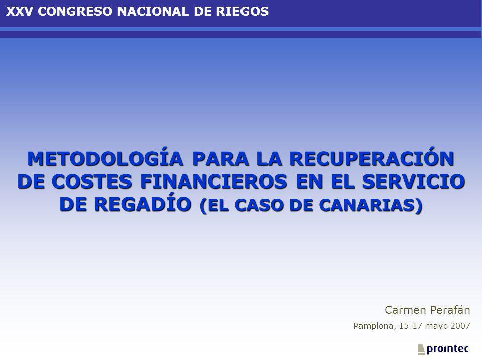 XXV CONGRESO NACIONAL DE RIEGOS