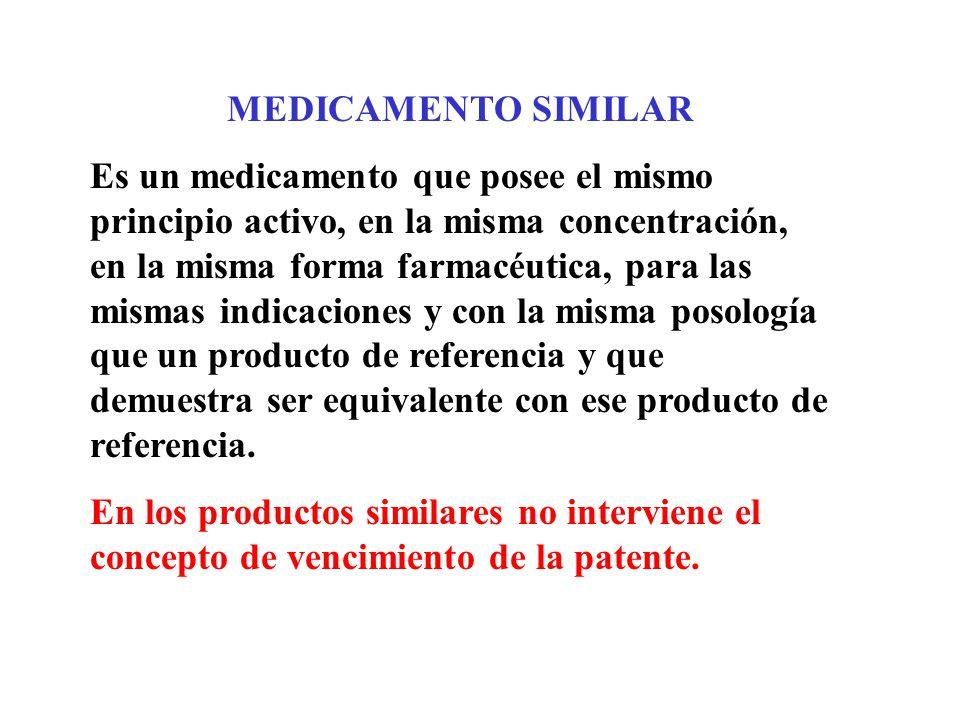 MEDICAMENTO SIMILAR