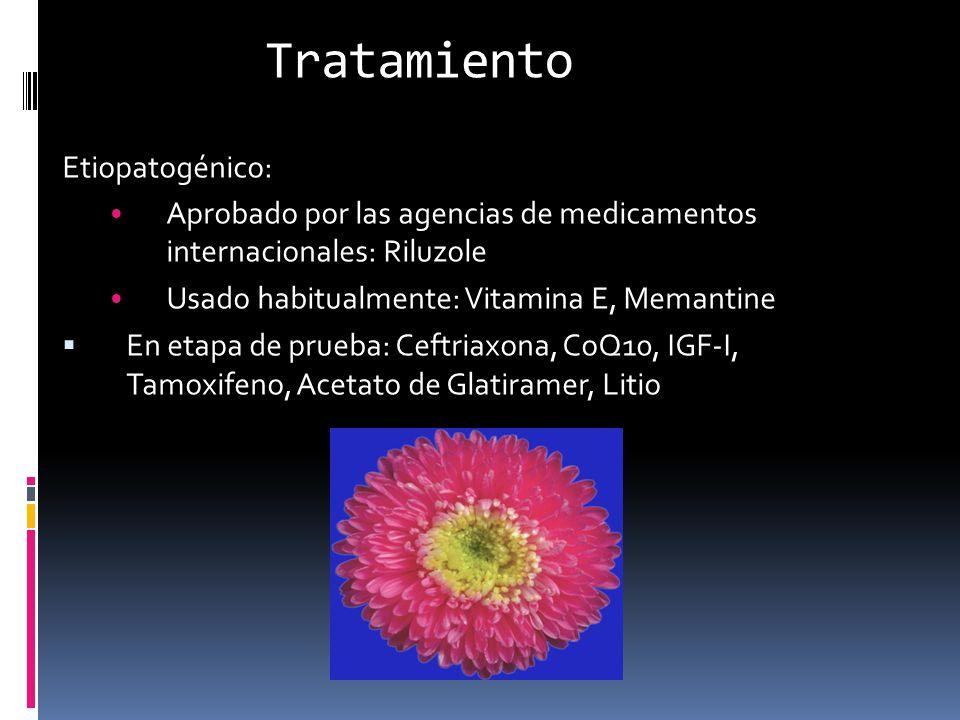 Tratamiento Etiopatogénico: