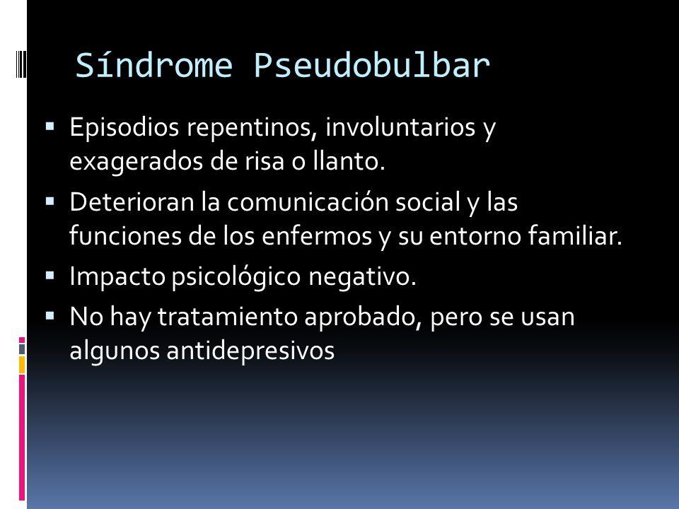 Síndrome Pseudobulbar