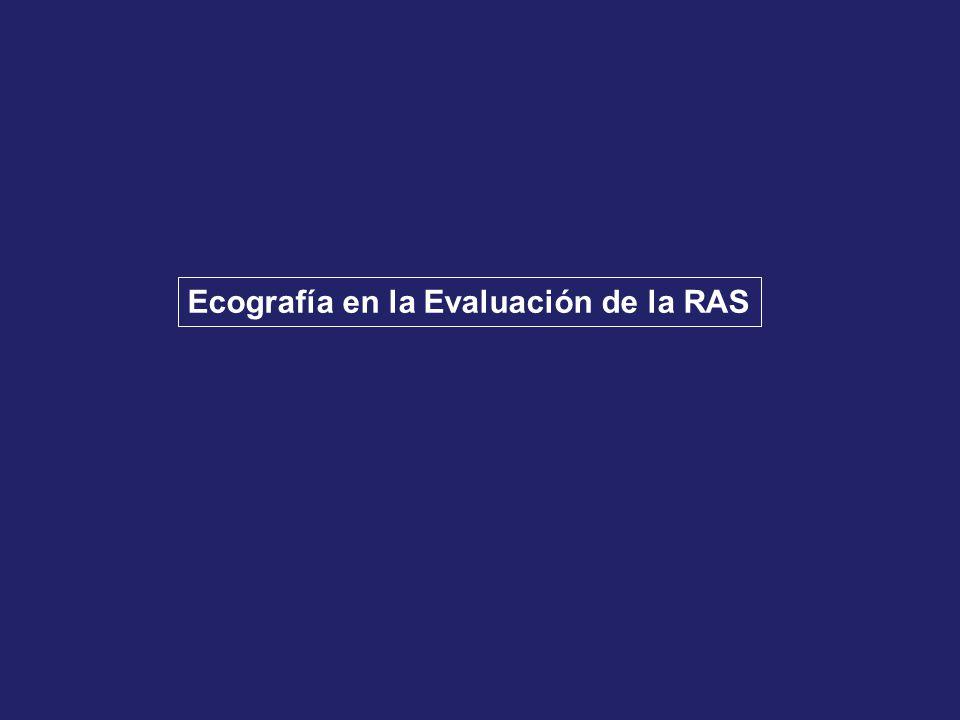Ecografía en la Evaluación de la RAS