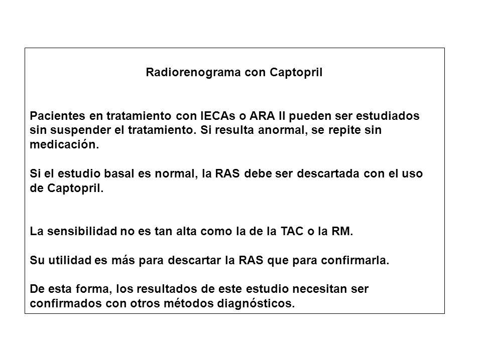 Radiorenograma con Captopril