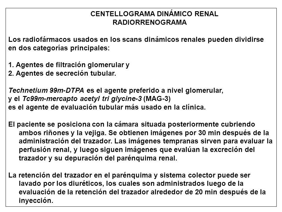 CENTELLOGRAMA DINÁMICO RENAL
