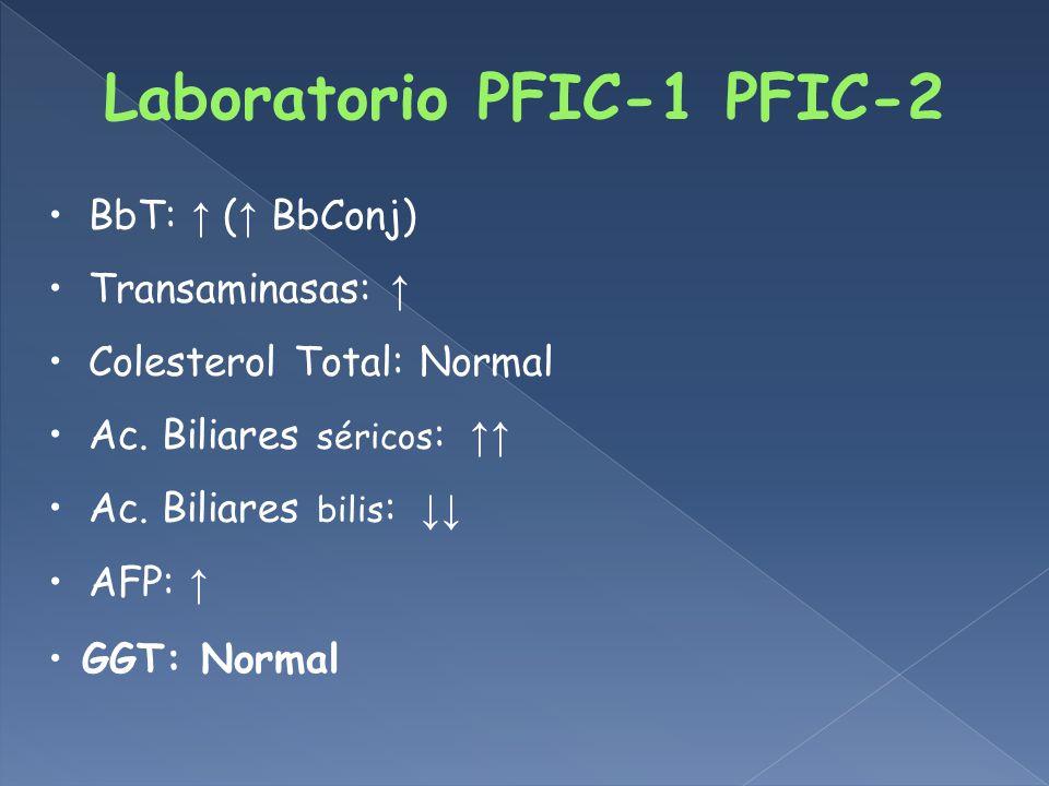 Laboratorio PFIC-1 PFIC-2