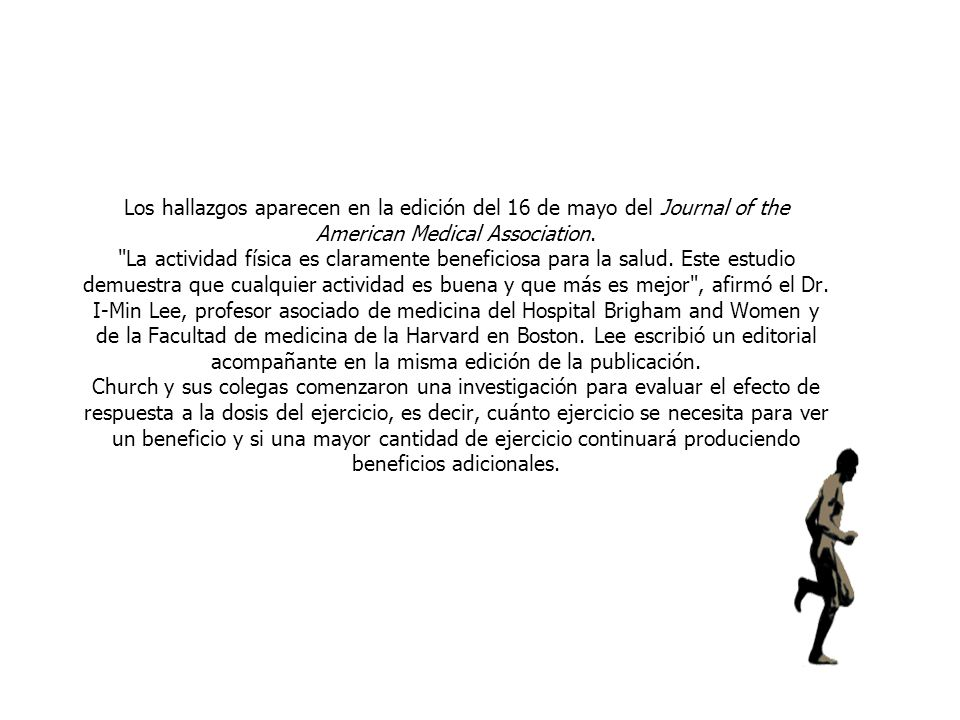 Los hallazgos aparecen en la edición del 16 de mayo del Journal of the American Medical Association.