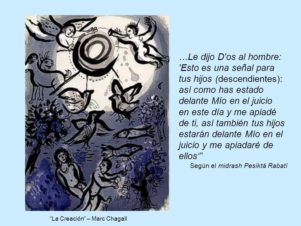 La Creación – Marc Chagall