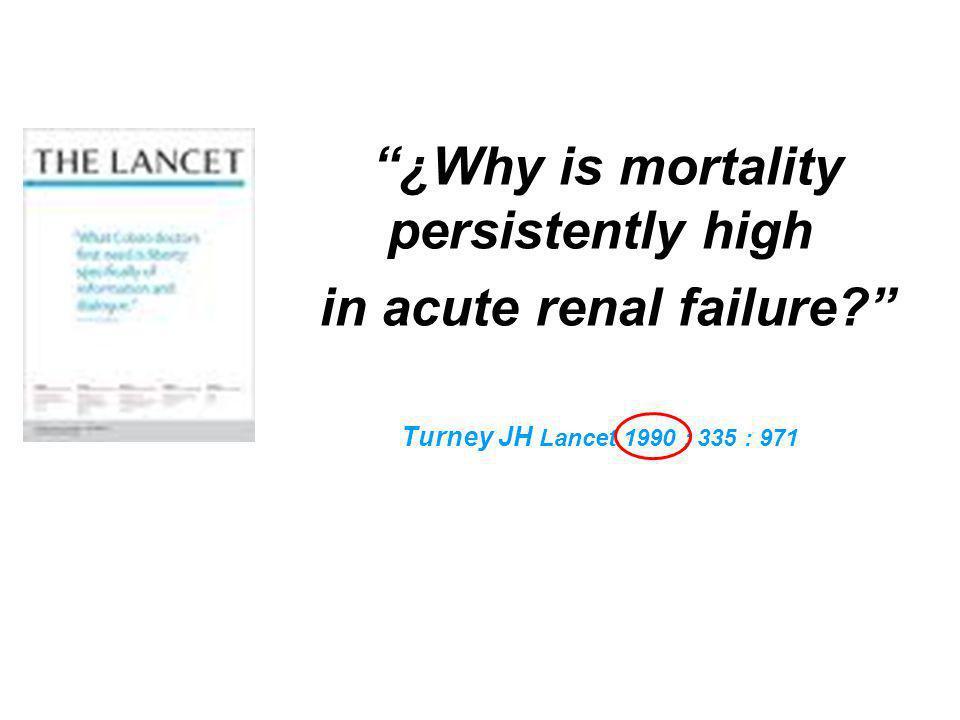 in acute renal failure