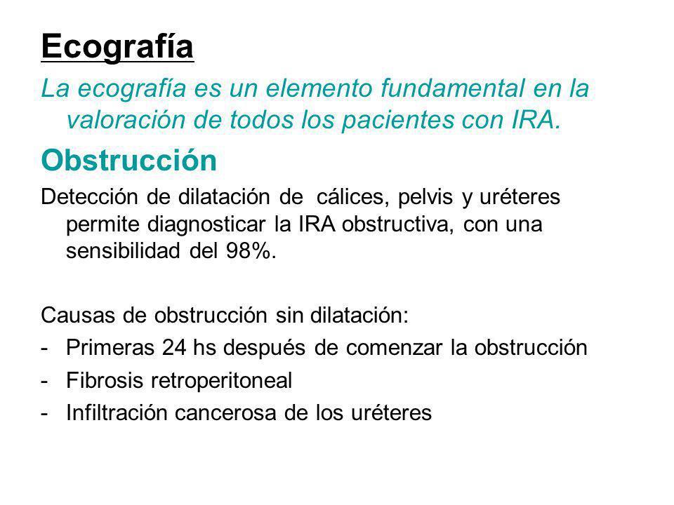 Ecografía Obstrucción