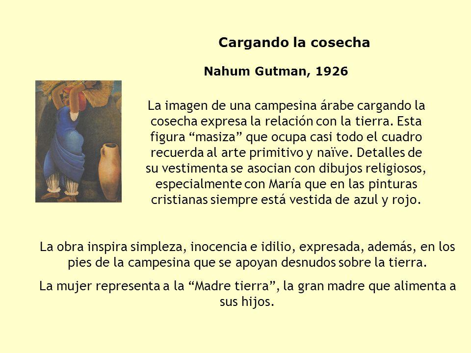 Cargando la cosecha Nahum Gutman, 1926.