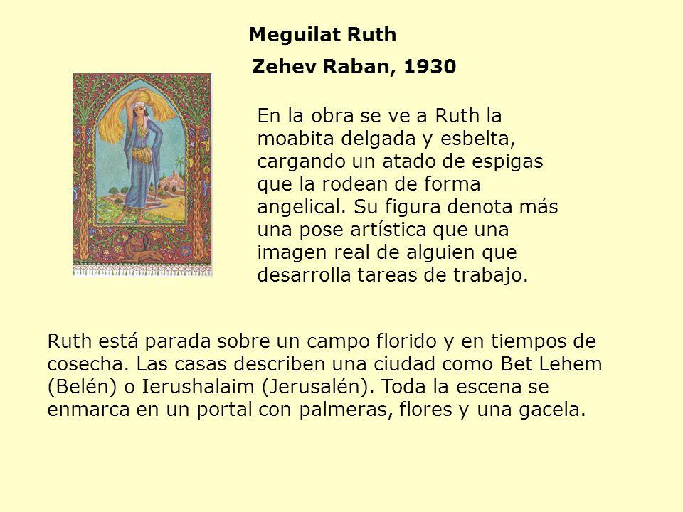 Meguilat Ruth Zehev Raban, 1930.