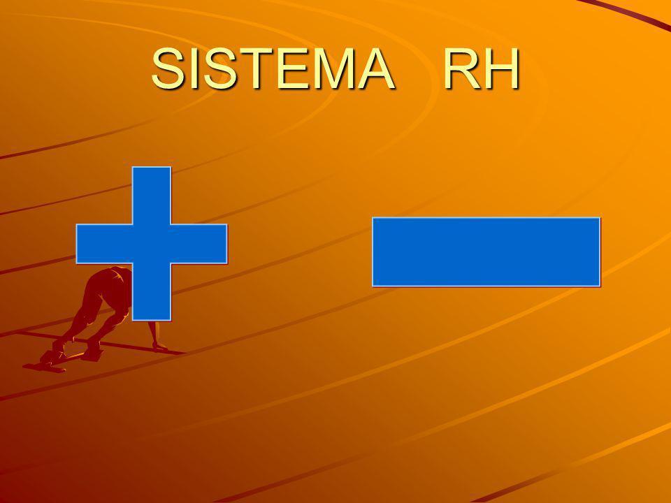 SISTEMA RH + -
