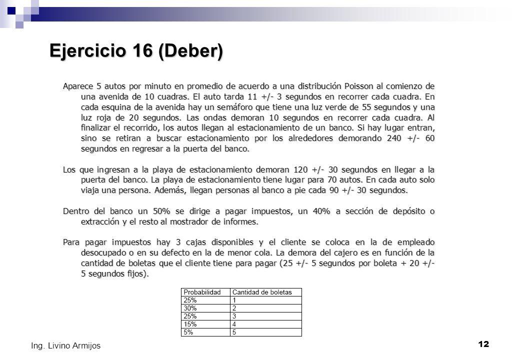 Ejercicio 16 (Deber)