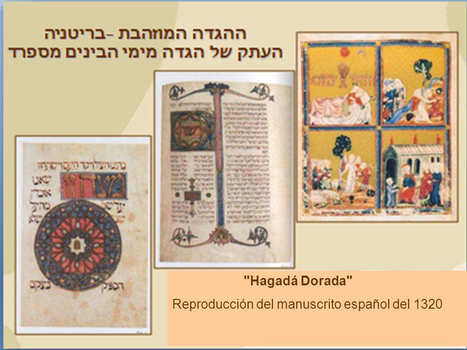 Hagadá Dorada Reproducción del manuscrito español del 1320