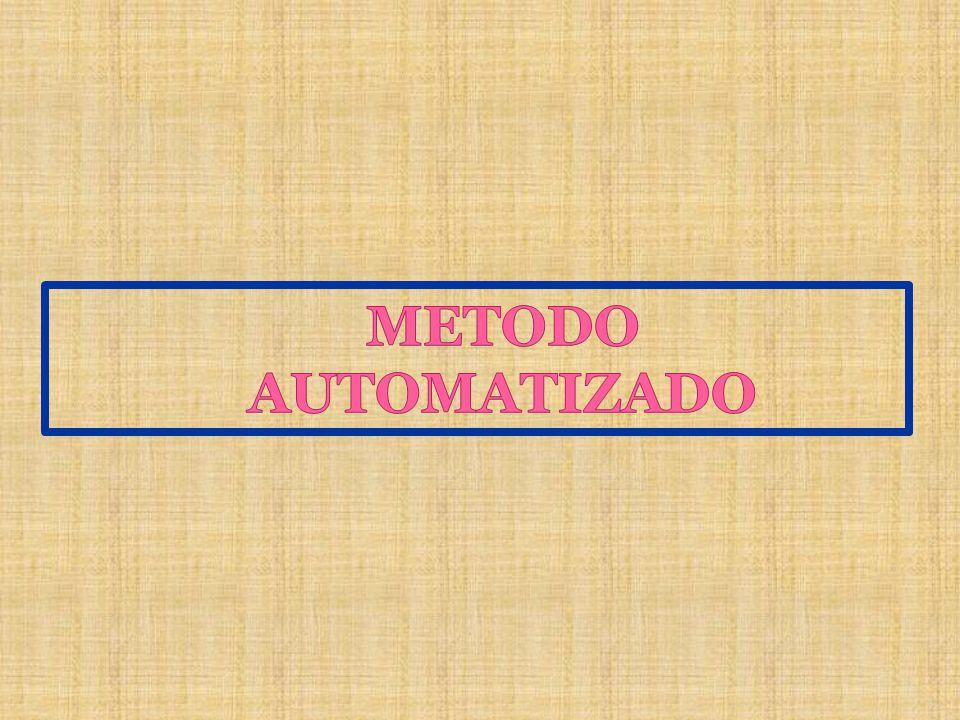 METODO AUTOMATIZADO